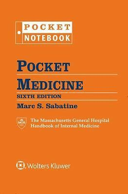 Pocket Notebook: Pocket Medicine by Marc S. Sabatine (Ringbound, Revised Edition