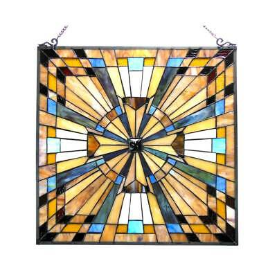 Stained Glass Panel for Window Tiffany Style Suncatchers Mission Victorian