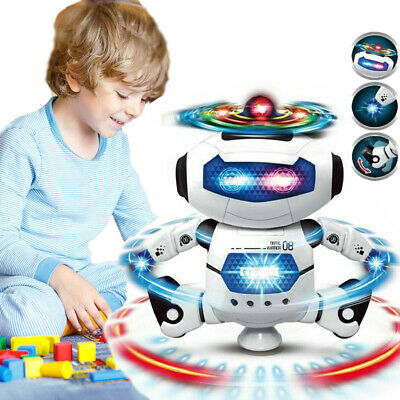 Toys for Boys Toy Kids Walk Dancing Robot Dog 5 6 7 8 9 10 Year Old Xmas Gift US