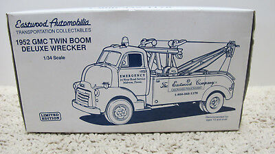 1ST First Gear 1952 GMC Twin Boom Deluxe Wrecker Eastwood 1/34 New
