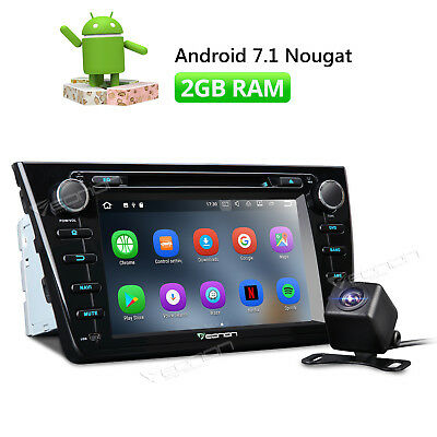 """For Mazda 6 8""""Android 7.1 Car Stereo Radio DVD GPS Navigation Bluetooth 4G C CAM"""