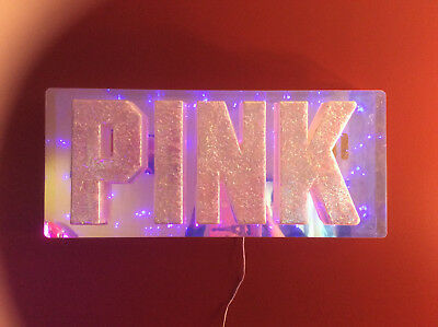 Victoria's Secret PINK Rare Light Up Sign Display