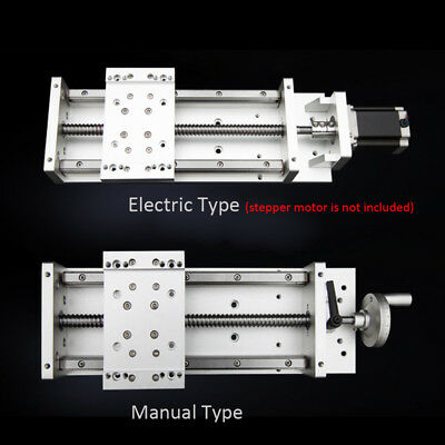 XYZ Axis Linear Rail Stage Module Motion WorkTable 100~1000mm Heavy Load Milling