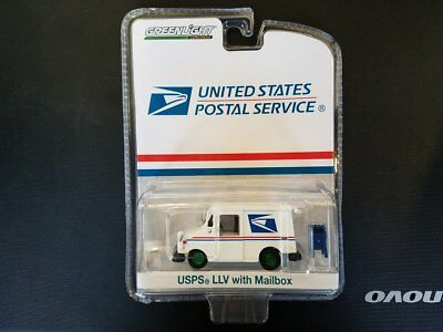 GREENLIGHT 1:64 United States Postal Service USPS LLV Truck Mailbox 29888 Chase