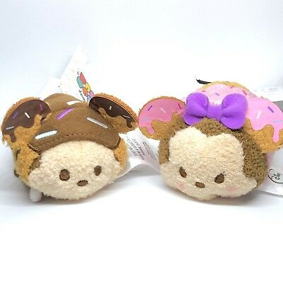Disney Donut Tsum Tsum Mini Set - Donut Sprinkles Mickey And Minnie Mouse
