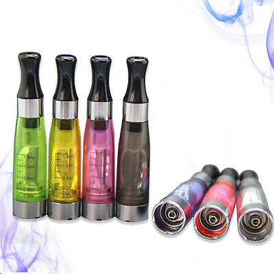 HOT 10pcs 1.6ml EGO CE4 Atomizer Clearomizer Charger Pen Round Mouth