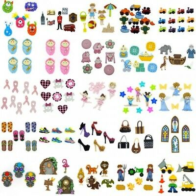 Dress It Up Novelty Button & Embellishment Collection Random Miscellaneous Craft