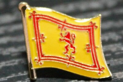 SCOTLAND LION Country Metal Flag Lapel Pin Badge *NEW*