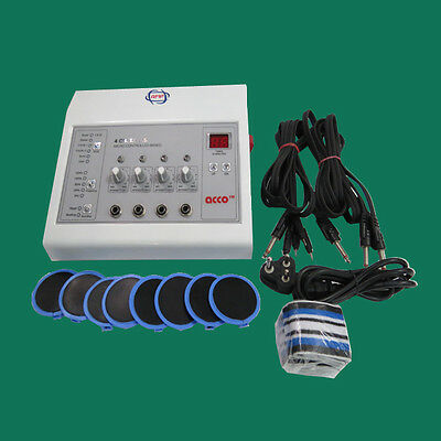Electronic Stimulator Electrotherapy 4 channel  full Body Pain Relief Massager