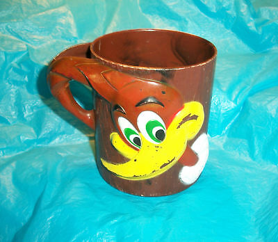 1965 F & F mold & die works Woody Woodpecker cup