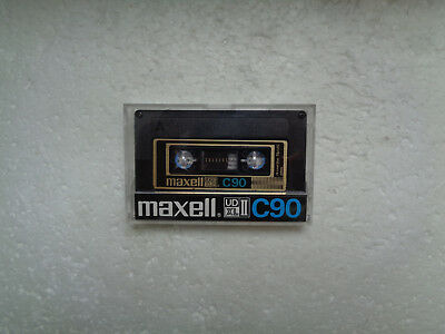 Vintage Audio Cassette MAXELL UD XL II C90 From 1980-82 - Excellent Condition !