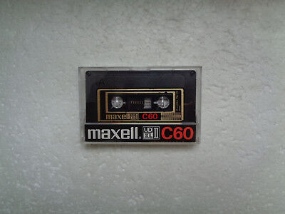 Vintage Audio Cassette MAXELL UD XL II C60 From 1980-82 - Excellent Condition !