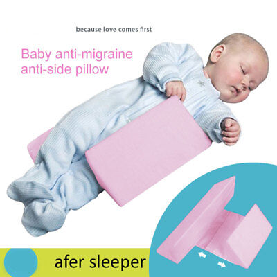 Baby Anti-Roll Infant Sleep Pillow Support Safe Wedge Bed Back Adjustable