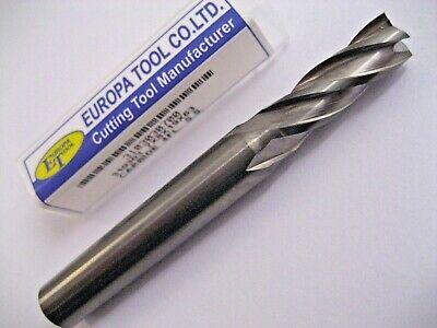 7mm SOLID CARBIDE 4 FLUTED END MILL EUROPA TOOL 3103030700 NEW & BOXED  #C5