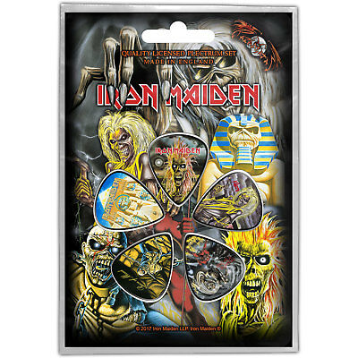 Iron Maiden - Faces of Eddie - Plectrums / Picks - 5 pack NEW