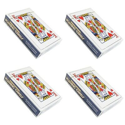 Sealed Pack Professional Plastic Coated Playing Cards 9 cm x 6 cm Poker Rummy