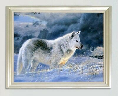 "Diamond Painting - Diamant Malerei - Stickerei - ""Wolf"" (22)"