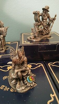 Tudor Mint Myth and Magic Pewter and Crystal Figurines
