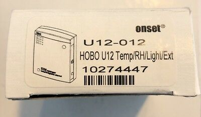 Onset U12-012, HOBO U12 Temperature/Relative Humidity/Light/External Data Logger