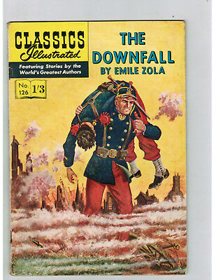 CLASSICS ILLUSTRATED COMIC No. 126 The Downfall - 1/3  HRN 126