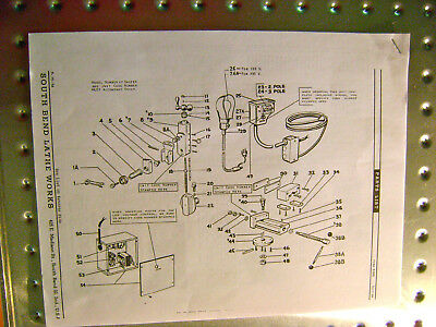 SOUTH BEND 7 Precision Shaper Parts List & Rare Oil Pump Adjusting Instructions