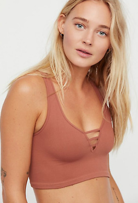 07c188d0ce2f NEW Free People Intimately Strapped Brami Cami Tank Terracotta XS/S & M/L