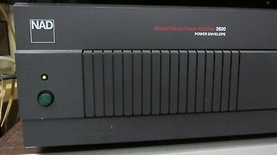 NAD 2600 Two Channel HiFi Stereo 1600 WATTS Power Amplifier Made in Japan EXCL
