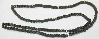 Ancient Viking Bronze neck decoration CHAIN  Big SIZE WEIGHT -76g
