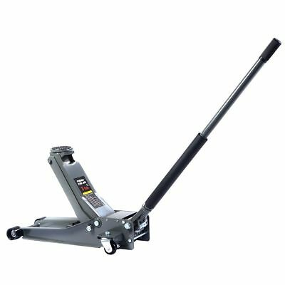 3 Ton Heavy Duty Steel Low Profile Floor Jack Rapid Pump Lowered Car Lowrider