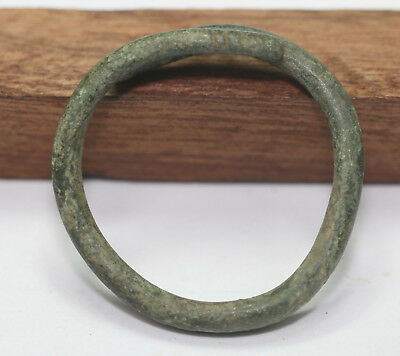 Ancient Viking bronze   bracelet.