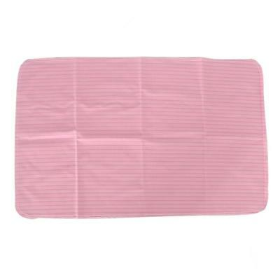 Waterproof Reusable Bed Pad for Absorbent Bedwetting & Incontinence Pad Pink