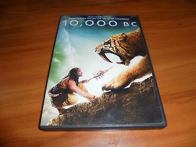 10,000 B.C. (DVD, Widescreen/Full Frame  2008) Used 10000 BC Camilla Belle