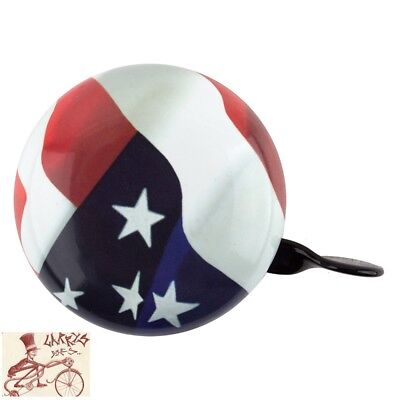 109137 USA Flag Style Bike Bicycle Ringer Big Flag bicycle Bell.