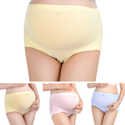 Maternity Panties Pregnant Women Adjust Underpant Belly Brace High Waist Briefs
