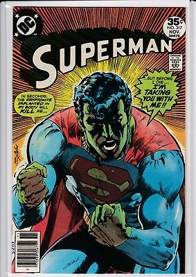 Superman 317 VG-FN Classic Neal Adams Cover!