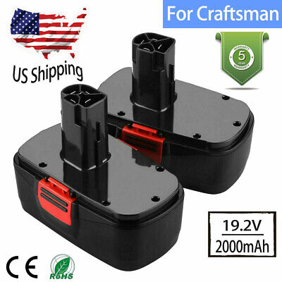 2X For Craftsman DieHard C3 19.2V Battery 315.115410 315.11485 130279005 1323903