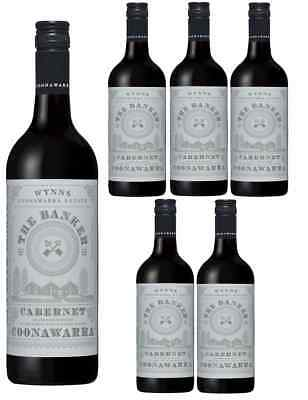 PRICE DROP! Wynns The Banker Cab Sauv Coonawarra Red Wine 2016 (6x750ml) RRP$179