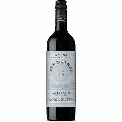Wynns The Banker Shiraz Coonawarra Red Wine 2016 (6x750ml) RRP$179