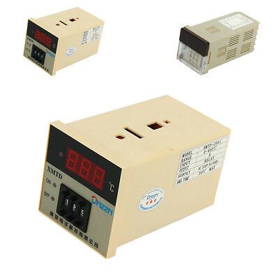 PID Digital Temperature Controller Thermostat Control Switch Embedded 220V