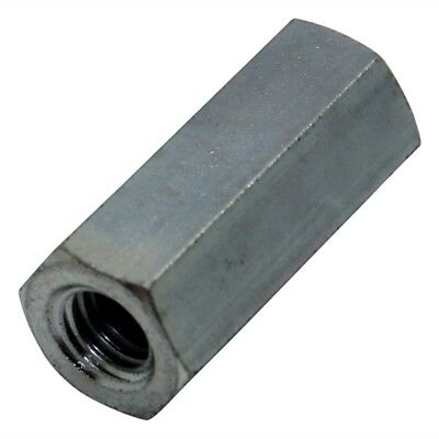 10x TFF-M5X35/DR128 Screwed spacer sleeve Int.thread M5 35mm hexagonal 128X35
