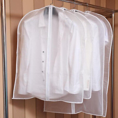 3 Sizes Dress Suit Cover Garment Protection Plastic Storage Bag Coat  Protector