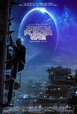 Ready Player One (Teaser) - Affiche cinéma 40X60 - 120x160 Movie Poster