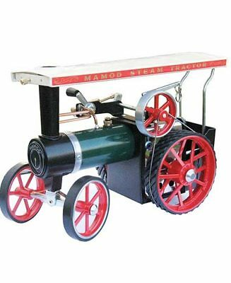Mamod Live Steam Te1A Green Traction Engine. New In Box  Tyres As Std