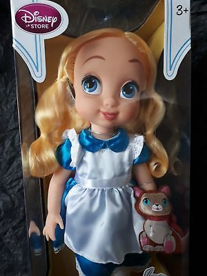 Disney Animators Collection Alice Doll Puppe OVP NRFB