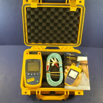 New Fluke Fiber OneShot One Shot OTDR Length Meter, Single Mode with Hard Case!