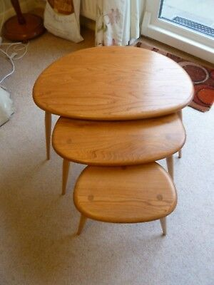 Ercol Nest Of 3 Tables