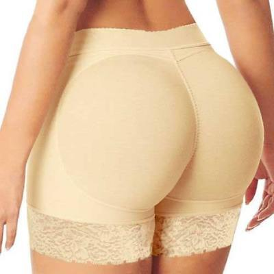 Women Padded Bum Pants Enhancer Shaper Buttock Lifter Booty Boyshorts Underwear