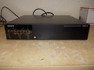 SONY Network Surveillance Server NSR-500 Series IPELA