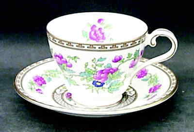 Aynsley INDIAN TREE Cup & Saucer 22584