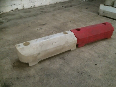 Track Safety Barriers - Used - Plastic Go Kart Motorsport Site Safety Barriers